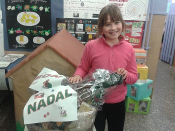 L'Andrea, guanyadora de la cistella